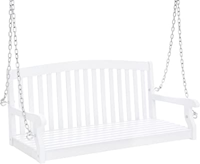 Super Amazon Com Summer Decor Outdoor Bench Swing Outdoor Swing Unemploymentrelief Wooden Chair Designs For Living Room Unemploymentrelieforg