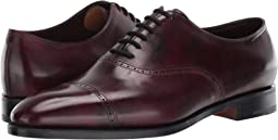 Trent Museum Calf Oxford w/ Single Leather Sole