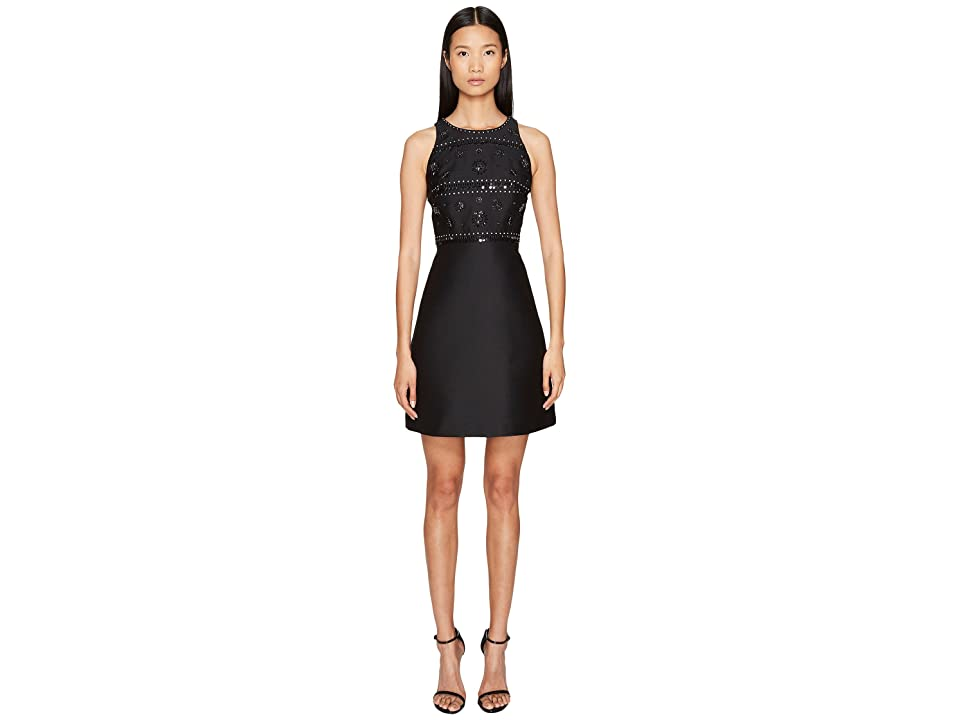 Kate Spade New York Spice Things Up Embellished A-Line Dress (Black) Women
