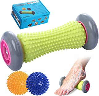 Sponsored Ad - Ryson Foot Roller Massage Ball for Relief Plantar Fasciitis and Reflexology Massager for Deep Tissue Acupre...