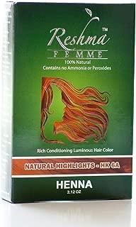 Reshma Femme Reshma Henna Hair Color, 2.12 Oz