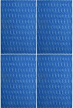 Ocean Broad 4/8 Pieces x (15in x 10in) Non-Slip Deck Pad Grip Mat, 3M Adhesive Trimmable EVA Traction Anti-Slip Foam Pad Sheet for Boat Kayak Canoe Yacht Pool Step SUP Board