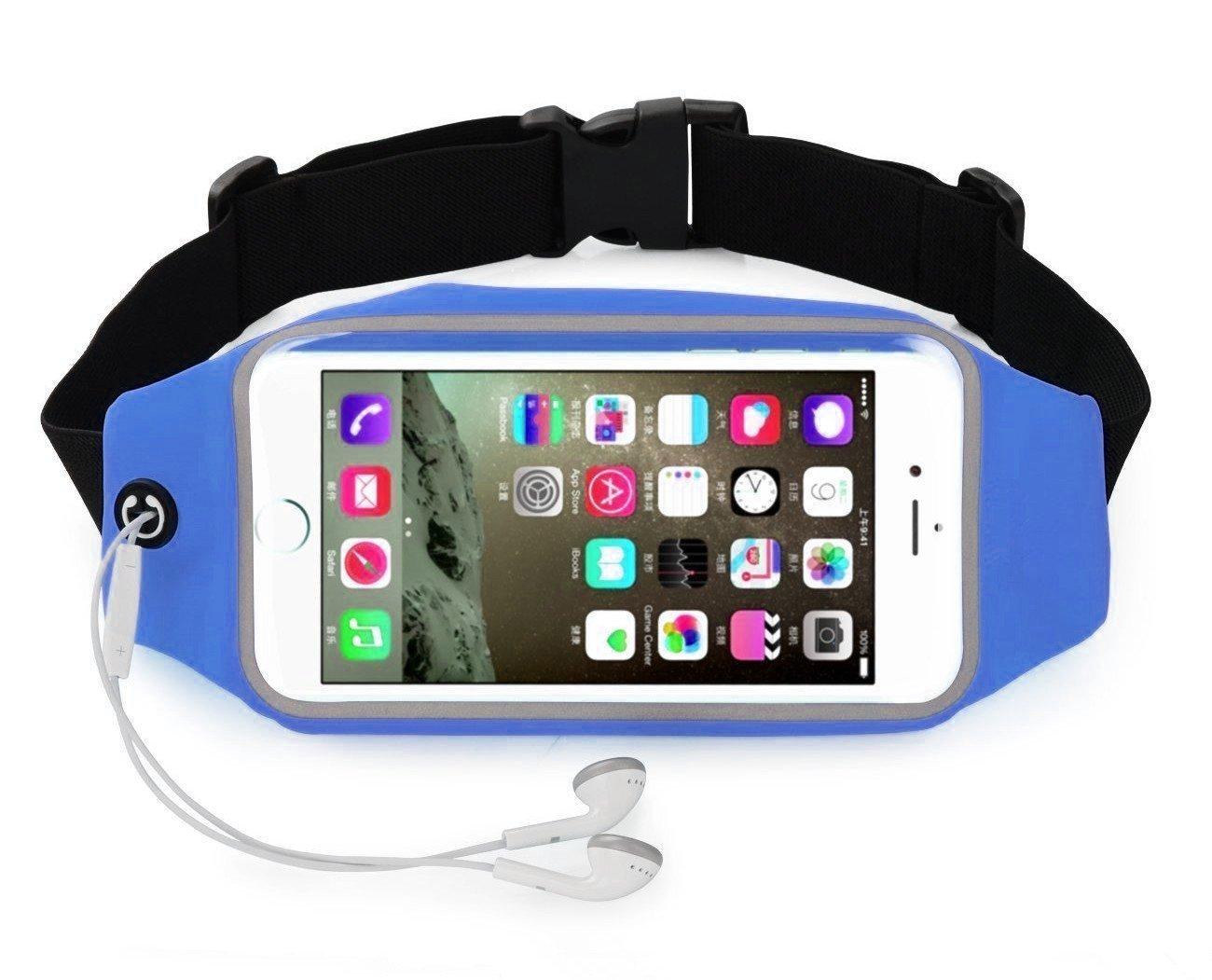 Bareas YD03 手机腰包 5.5英寸 户外运动包 手机跑步包 内置钥匙扣 轻便防汗,手机户外配件。