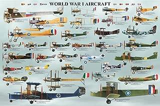 EuroGraphics World War I Aircraft Poster, 36 x 24 inch