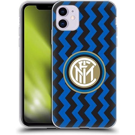 Head Case Designs Ufficiale Inter Milan in Casa 2020/21 Kit Crest Cover in Morbido Gel Compatibile con Apple iPhone 11