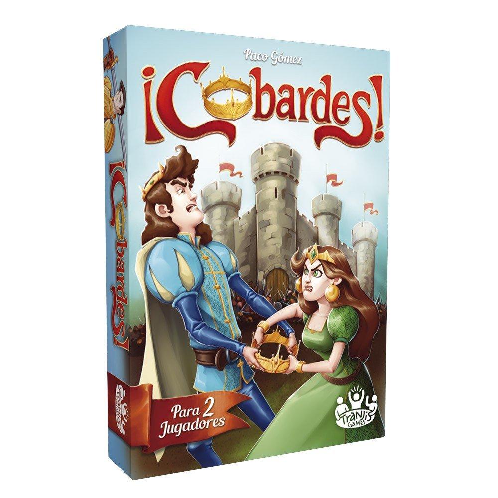 Tranjis Games - ¡Cobardes! - Juego de cartas (TRG-03cob): Amazon.es: Juguetes y juegos