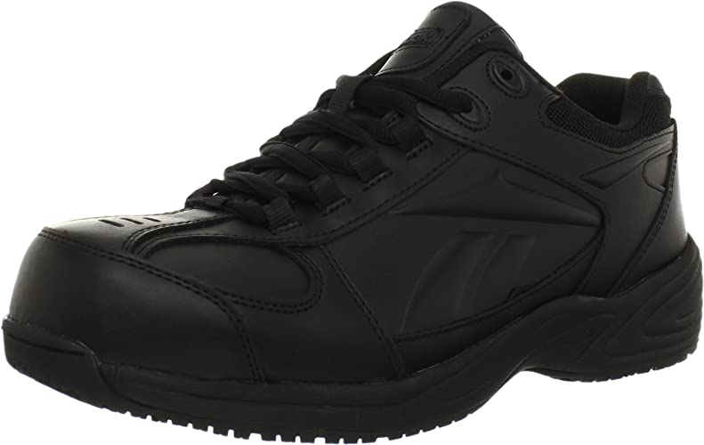 Reebok Hommes's rue Sport Jogger Oxford Work chaussures noir 14 D(M) US