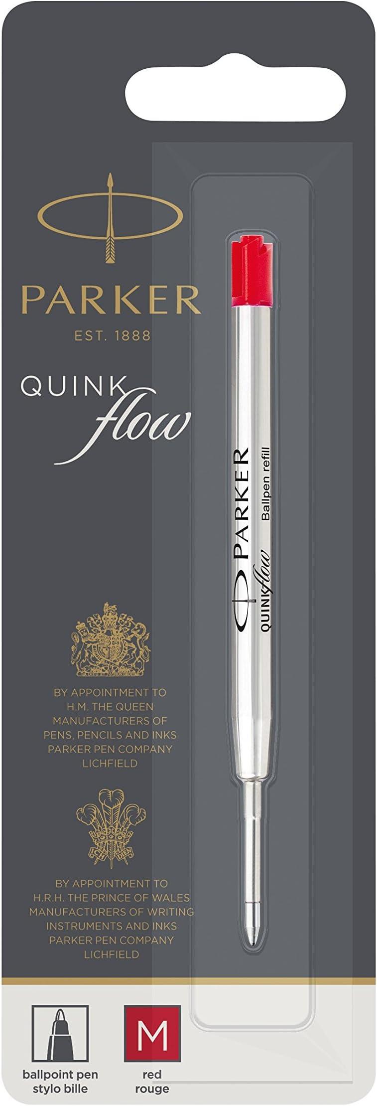 Pelikan 337 Red Medium Pt Ballpoint Pen Refill New  915389 Works For Parker Pens