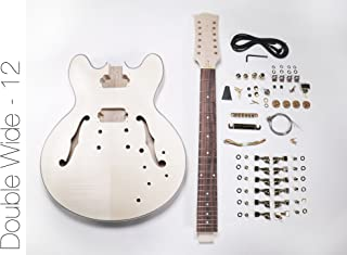 DIY Electric Guitar Kit - 12 String 335 Style Build Your Own Guitar Kit