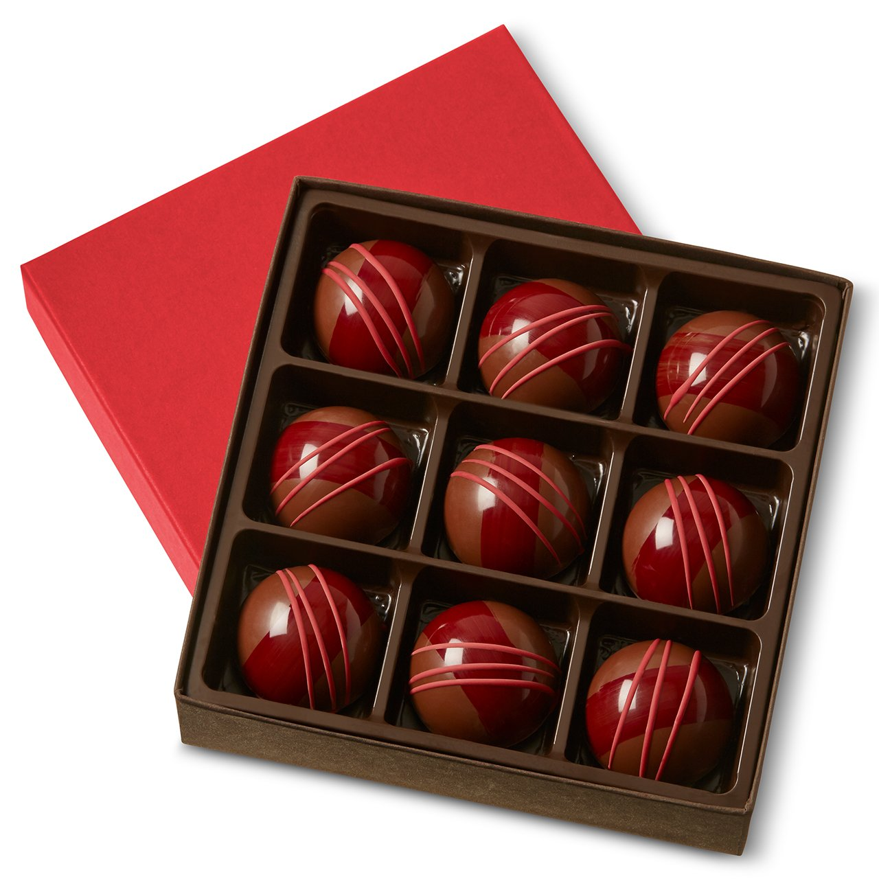 KOHLER Original Indianapolis Mall Recipe Chocolates Variety 9 famous Piece Ganache Garden