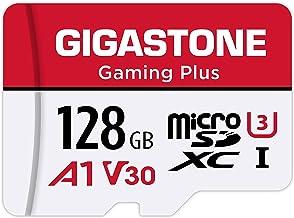 Gigastone マイクロSDカード 128GB Micro SD Card Nintendo Switch 動作確認済 SD アダプタ付 adaptor MicroSDXC A1 U3 V30 C10 95MB/S 高速 microsdカー...