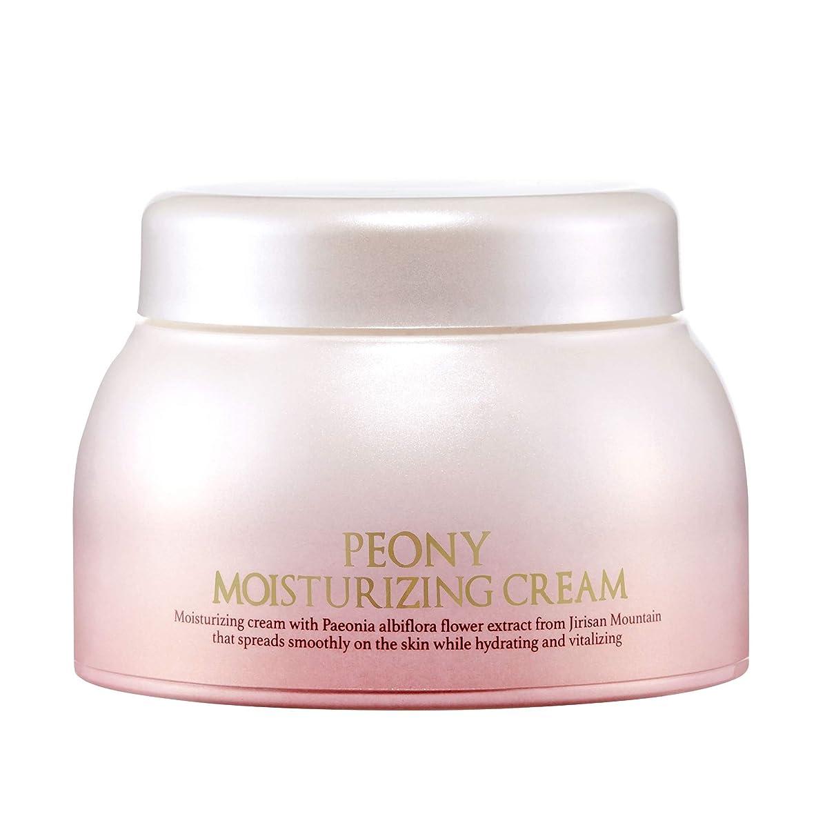 防止省しがみつくBAEGAYUL (ベガユル) シャクヤク 保湿クリーム / Peony Moisturizing Cream (50g) [並行輸入品]