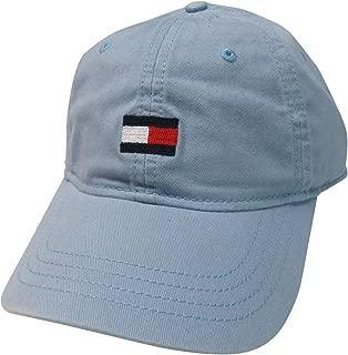 Men's Medium Logo Hat Ball Cap Light Blue
