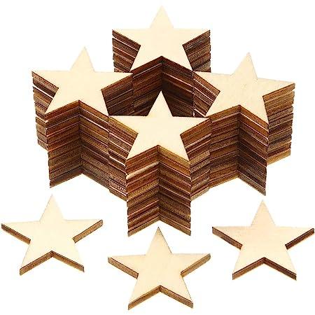 10,5 x 2 x 10 pulgadas Bel/én de madera con forma de estrella Bright Creations