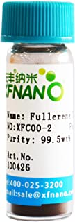 99.5% Fullerene C60 Powder Carbon 60 1gram in Glass Vial-Same Day Priority Shipping