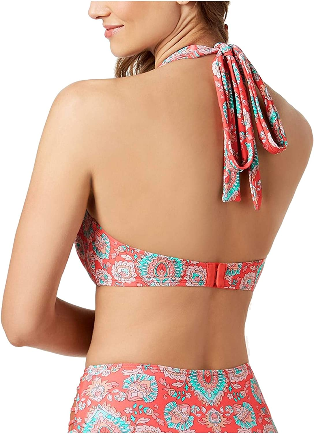 Coco Reef Women's Bikini Top Swimsuit with Convertible Neckline & Strappy Detail