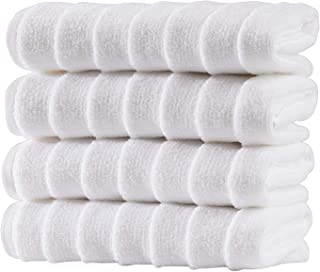 Bagno Milano Ultra Soft and Absorbent Premium Turkish Cotton Plush Towels - GMO Pesticide Free Cotton - Made in Turkey 4 p...