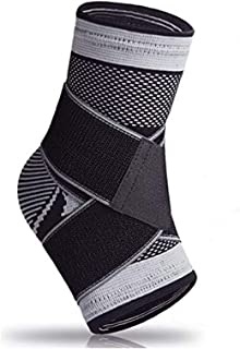 Plantar Fasciitis Sock with Arch Support, Eases Swelling, Achilles Tendon & Ankle Brace Sleeve with Compression Effective ...