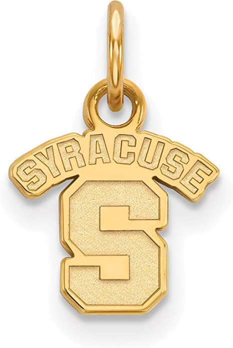 George Mason University GMU Patriots Mascot Pendant Necklace Gold Plated Silver