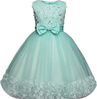 Wedding Flower Princess Party Pageant Formal Dress Prom Baby Girl Birthday Dress