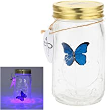 eSmart Animated Butterfly In A Jar With LED Light (Blue)