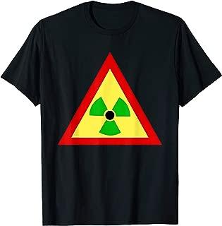 Rasta Radiation Symbol Radioactive  T-Shirt