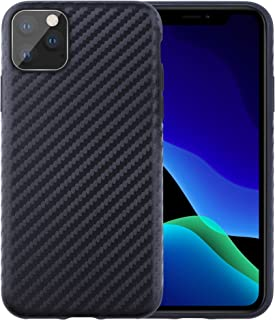 Starred Carbon Fiber Texture for Apple iPhone 11 [6.1 inches] Case Ultra Slim Protective Premium Cover Excellent Grip (Black)