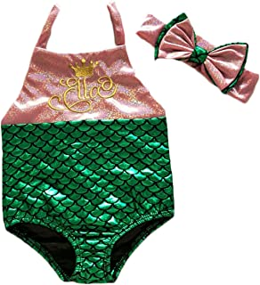 Cuekondy 3-24 Months Baby Girls Tassel Watermelon Print Swimwear Swimsuit Bikini Shorts Headband Summer Outfits