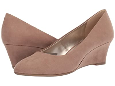 Bandolino Fayola Wedge Heel (Taupe Fabric) Women