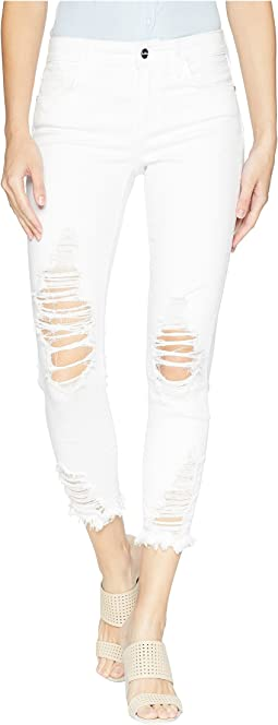 The Kitten Mid-Rise Skinny Crop in Belle