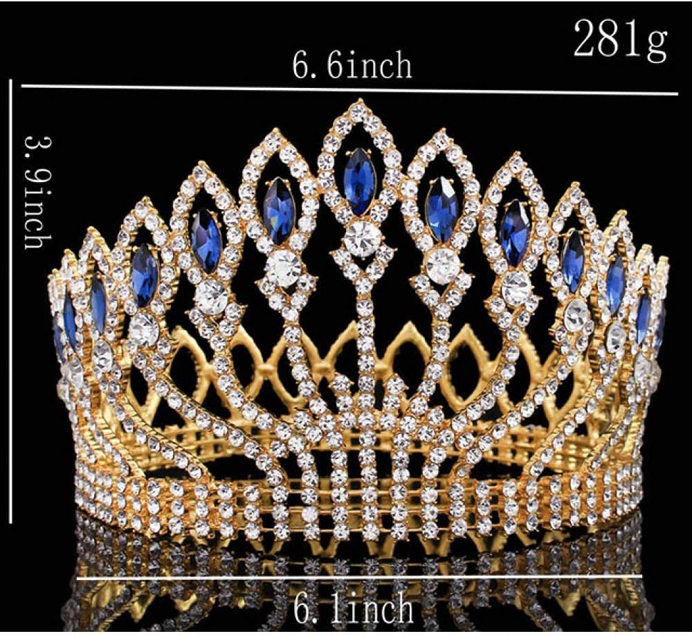 FMOGG Luxurious Sparkling Crystal Wedding Pr Crown In stock Pageant Outstanding Tiara