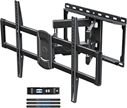 "Mounting Dream TV Mount- Full Motion TV Mount for 42-70 inch TVs, TV Wall Mount Bracket with Dual Articulating Arms, Fits 12""- 16"" Wood Studs, TV Wall Mounts with VESA 600x400mm Holds up to 100lbs"