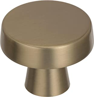 Amerock BP55272BBZ Blackrock knob, 1-5/8 inch (44 Millimeter) Diameter, Golden Champagne