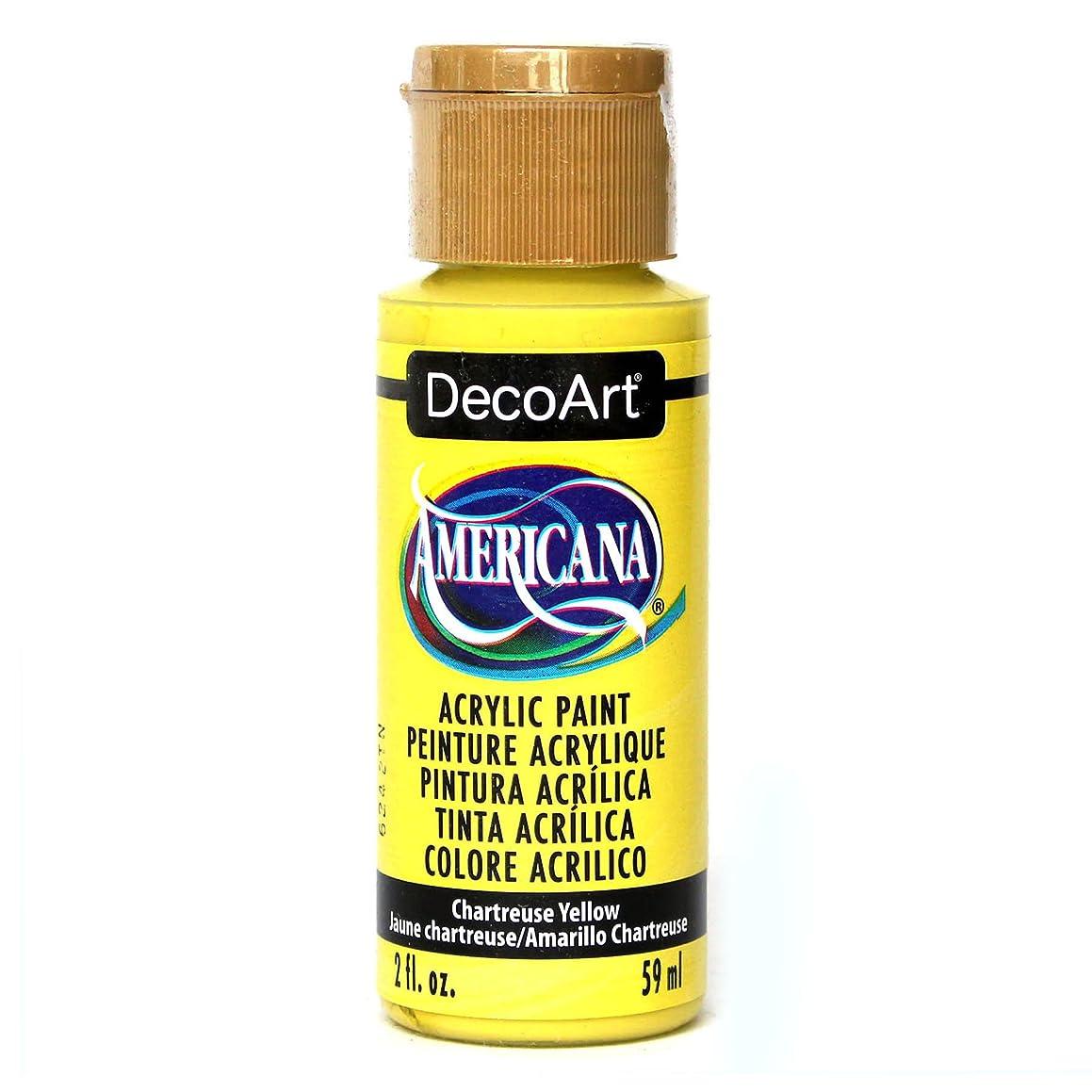 DecoArt Americana Acylic Chartreuse Yellow