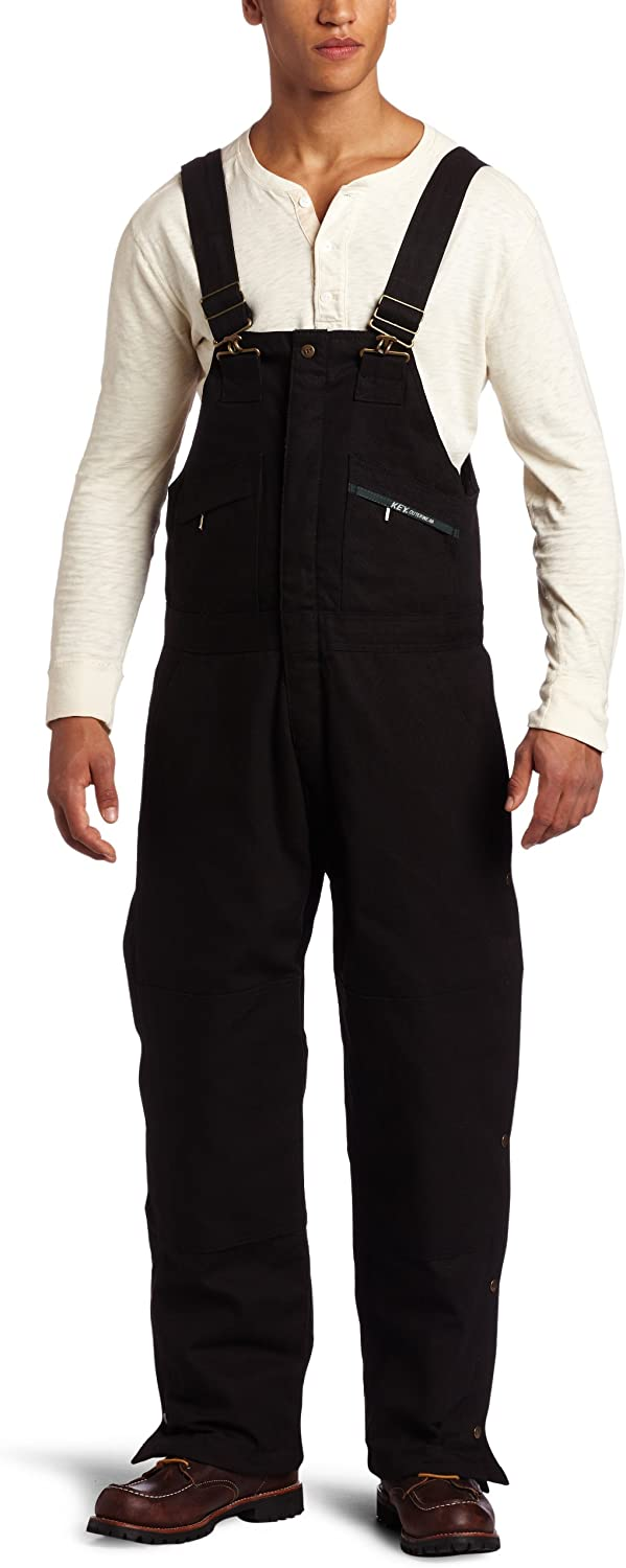 Key Apparel Mens Insulated Duck Bib Overall