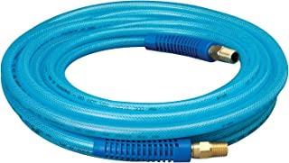6.5 MML.D. by 7.5M Dynamic Power PU Braided Air Hose 1//4 in by 25 Feet with 10 Pieces Parts; 200 PSI.D-PU14-25-10