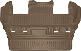 SMARTLINER All Weather Custom Fit 3rd Row Tan Floor Mat Liner Set Compatible With 2015-2020 Chevrolet Tahoe / GMC Yukon / Cadillac Escalade (Does not fit ESV Models)