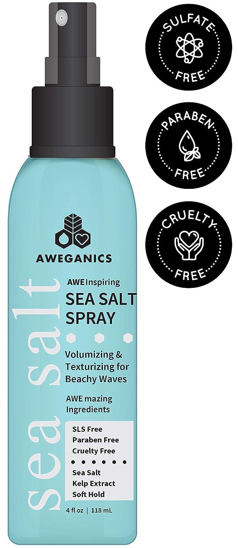 Aweganics Popular product Sea Salt Hair Spray - and AWE Inspiring Volumizing Tex Mail order cheap