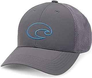 Structured Performance Logo Hat, Grey