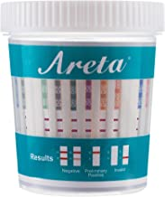 5 Pack Areta 14 Panel Drug Test Cup Kit with Temperature Strip, Instant Testing 14 Drugs Buprenorphine (BUP),THC,OPI 2000, AMP,BAR,BZO,COC,MET,MDMA,MTD,OXY,PCP,PPX,TCA-#ACDOA-1144