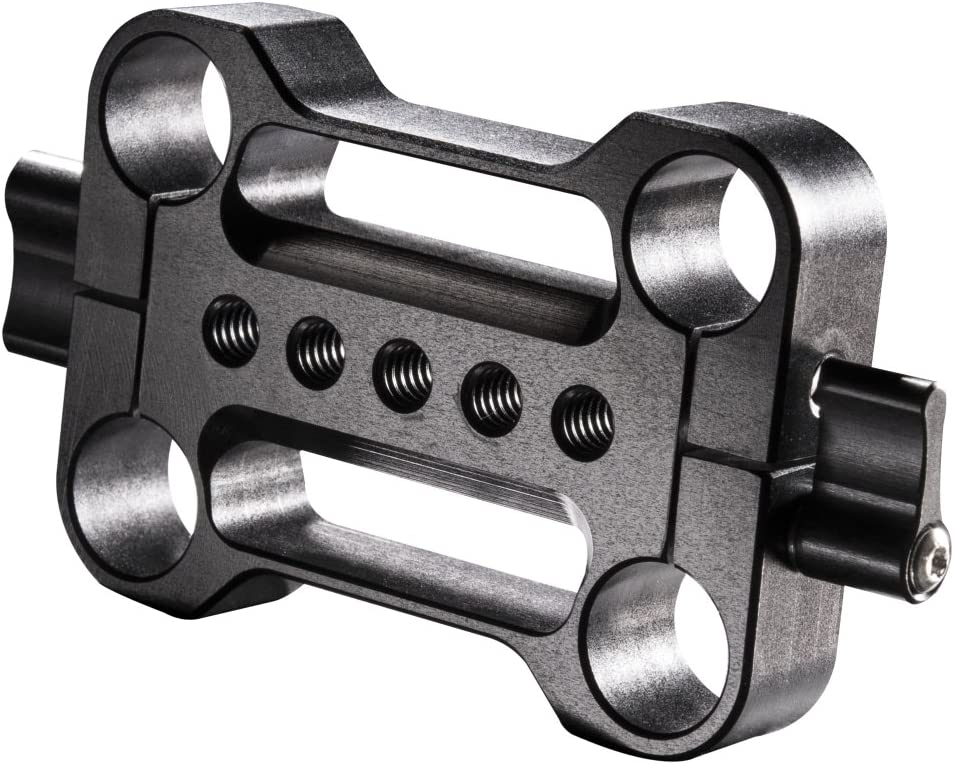 Walimex Pro Aptaris 15mm Double Rod Clamp For Video Rig Camera Photo