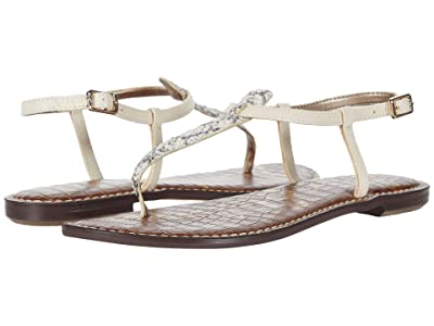 Sam Edelman Gigi (Black/White/Modern Ivory Corolla Snake Print Leather/Heavy Texas) Women