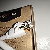 Amazon Basics RJ45 - Cable de red de Ethernet de Cat-7e, 7,6 m