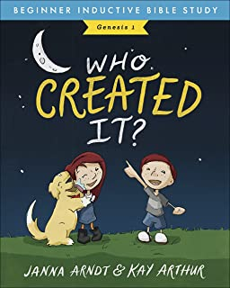 Who Created It?: Genesis 1 (Beginner Inductive Bible Study)