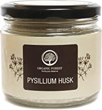 Organic Forest Dietary Products for Weight Loss Psyllium Whole Husk, Isabgol Premium Quality, Glass Container (100gm)