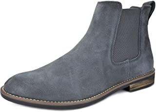 Sponsored Ad - Bruno Marc Men's Suede Leather Chelsea Ankle Boots