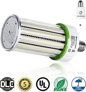 120W Commercial Grade Corn LED Light Bulb(400W Metal Halide/HID/HPS Replacement) - E26/E39 Large Mogul Base LED Bulbs - 5000K 16200 Lumens IP64 for Street Lighting Parking Lot High Bay - UL&DLC