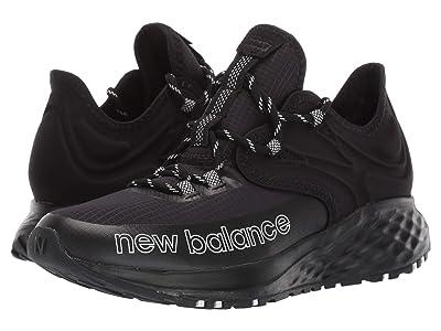 New Balance Kids Fresh Foam Roav Trail (Big Kid) (Black/White) Boy