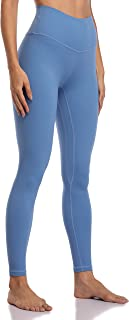 Colorfulkoala Women's Buttery Soft High Waisted Yoga Pants Full-Length Leggings