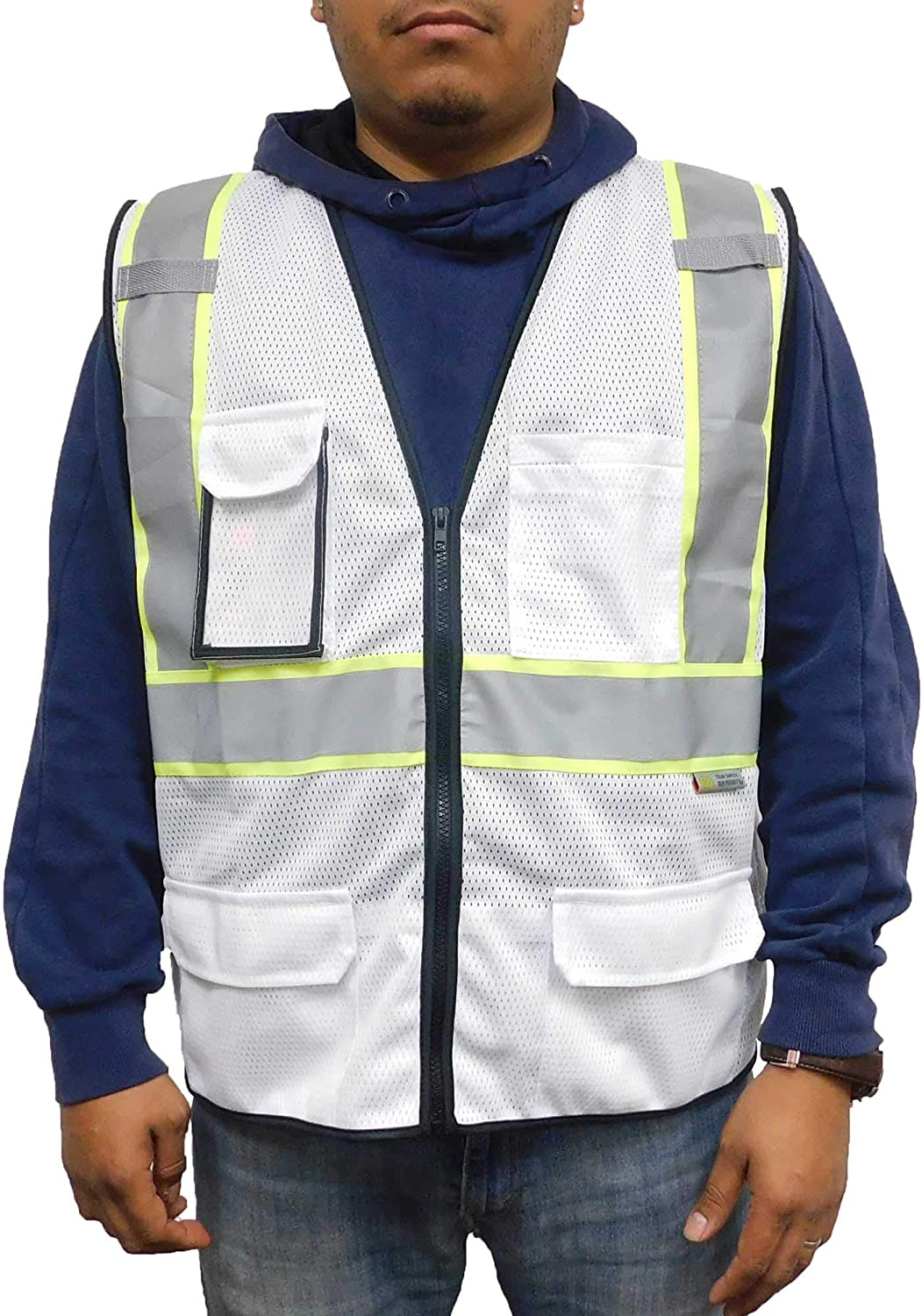 """3C Products 1 year warranty SV2520 Deluxe Ultra Popular popular Cool Vest Mesh Safety 2"""" R"""